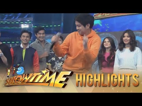 It's Showtime The Good Son Teen Stars Take On The Taga Saan Ka Stunning Taga Nug Youtube