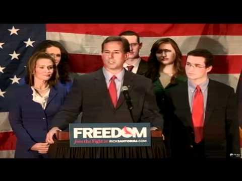 Rick Santorum Drops Out of 2012 Race, Cites Daughter