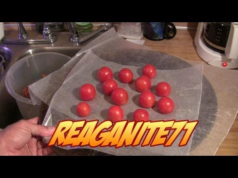 Easy Freezing Tomatoes & Peppers From the Garden