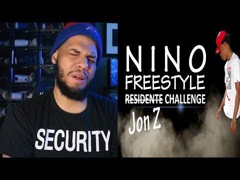 Nino Freestyle - Jon Z - Residente Challenge (Nuevo Record MUNDIAL LATINO 2114 Palabras) Reaccion