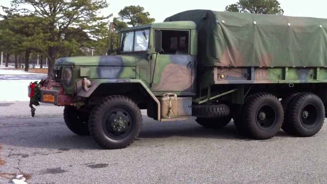 *SOLD* M35A2 2 5 Ton Kaiser Jeep Deuce And A Half Military Cargo Truck Bug  Out Vehicle P1