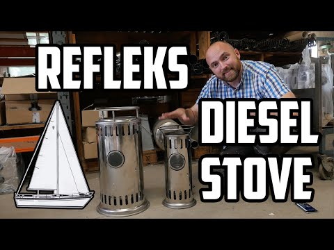 Sail Life - Picking up a Refleks 2000KV diesel stove to heat my sailboat