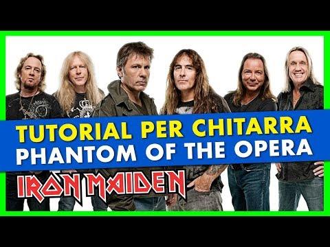 Tutorial » Phantom of The Opera - Iron Maiden » Lezioni di Chitarra Metal