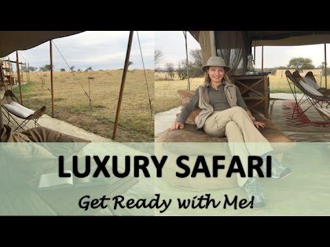 Luxury Safari - What to pack