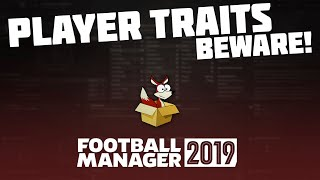 Football Manager 2019 - Player Traits (PPM