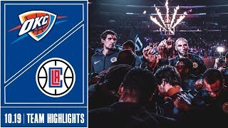 Clippers vs. Thunder Game Highlights | 10/19 Mp3