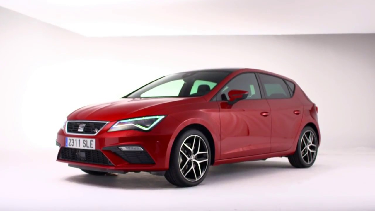 2017 seat leon fr facelift footage youtube. Black Bedroom Furniture Sets. Home Design Ideas