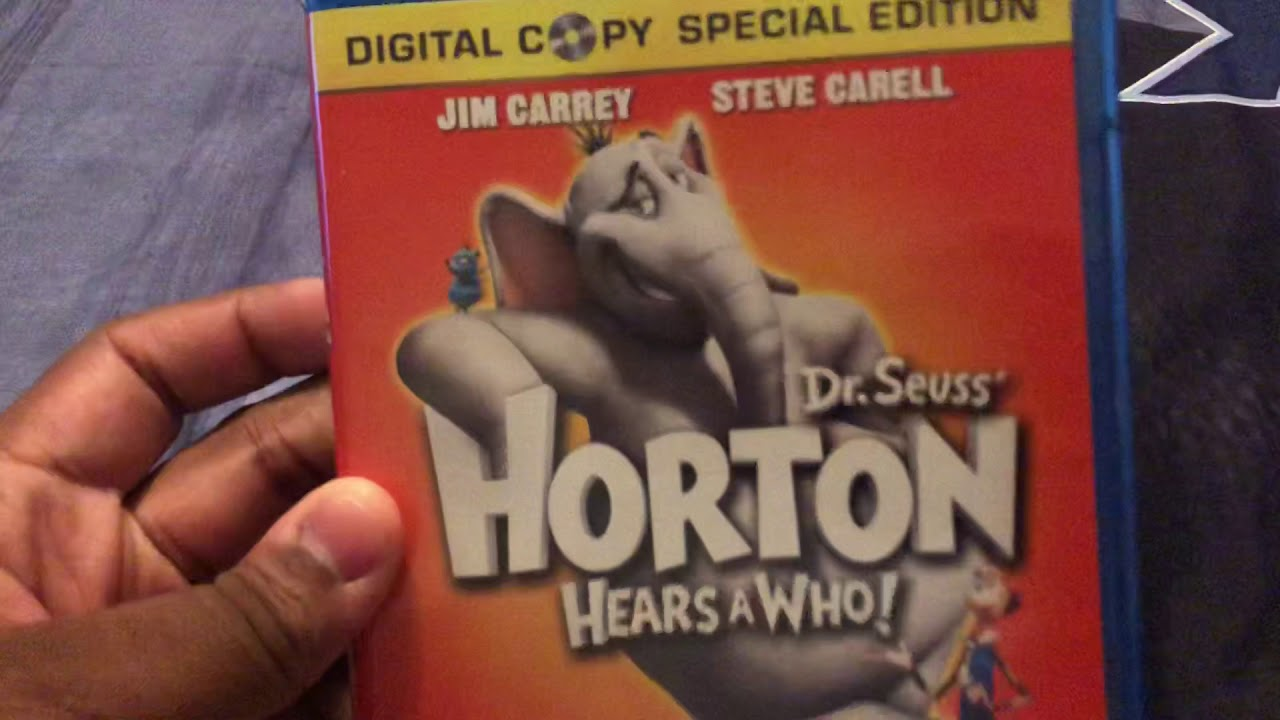 Download Dr. Seuss Horton Hears a Who blu ray unboxing