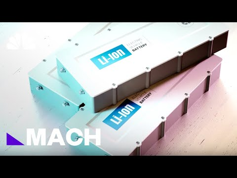 Chemistry Nobel Goes To 3 Scientists Who Developed The Lithium-Ion Batteries | Mach | NBC News
