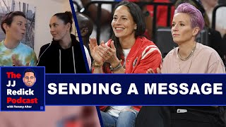Megan Rapinoe and Sue Bird on Speaking Out in Sports  The JJ Redick Podcast  The Ringer
