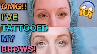 The Truth About Semi Permanent Brows (BEFORE, AFTER & HEALED) | MICROBLADING | DIAMANT BLADING