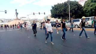 Protestan maestros interinos en Tijuana