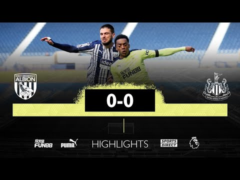 West Brom Newcastle Goals And Highlights