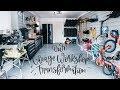 Reveal! Small Garage Workshop Tour - Storage + Finishing