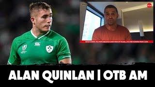 Alan Quinlan: Ireland's age profile |