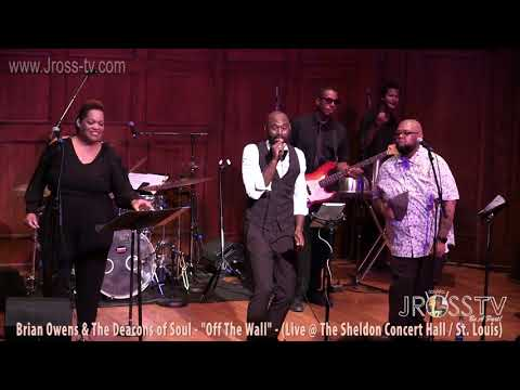 "James Ross @ Brian Owens & The Deacon of Soul - ""Off The Wall"" - www.Jross-tv.com"