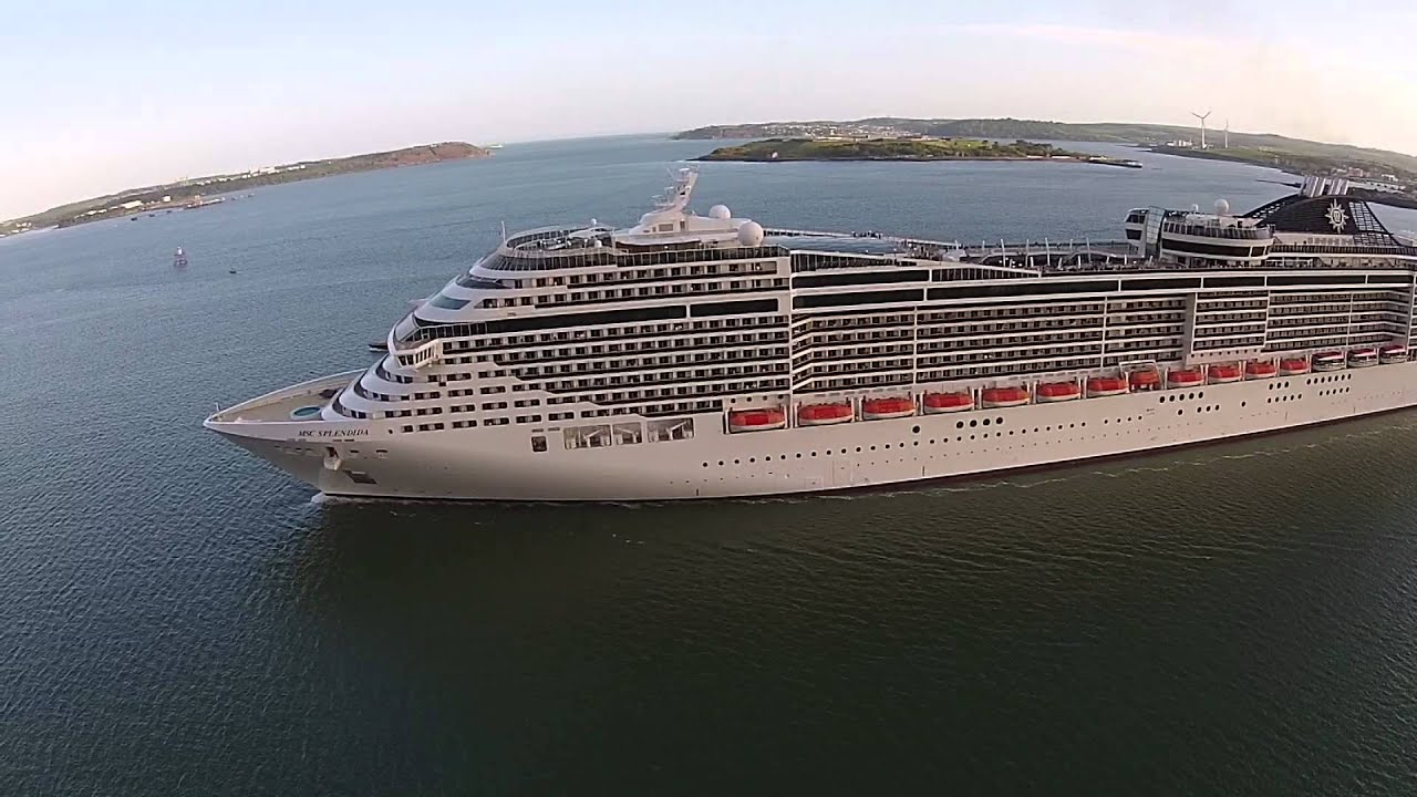 MSC SPLENDIDA - Cork, Ireland (May 12th 2015) - YouTube
