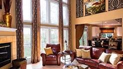 Two Story Great Room Window Treatments Idea