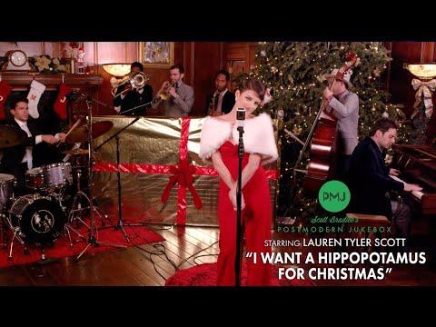 I Want A Hippopotamus For Christmas - Postmodern Jukebox Cover ft. Lauren Tyler Scott