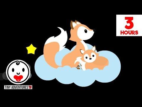 Baby Sensory - Sleepy Time Baby & Me -  High Contrast Animation - 3 Hours of Gentle Lullabies