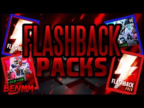 INSANE FLASHBACK PACK OPENING!!! TWO 96+ PULLS!!! Three Flashback Packs (Madden Mobile 16)