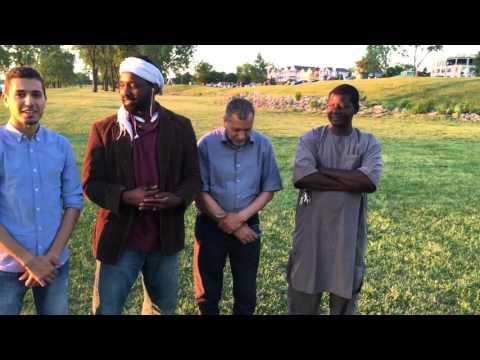 Mississippi River visited by USA Tidjani Tour Team p1 English, Arabic, français,  Wolof et pulaar