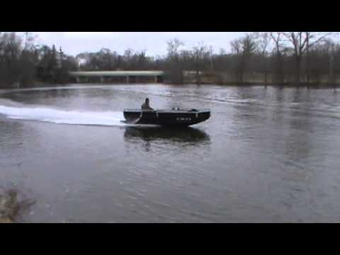 Jet Jon Boat For Bowfishing Youtube