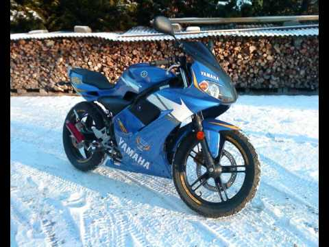 My Yamaha Tzr Rossi 2006! DJ Alex K - Rise Again
