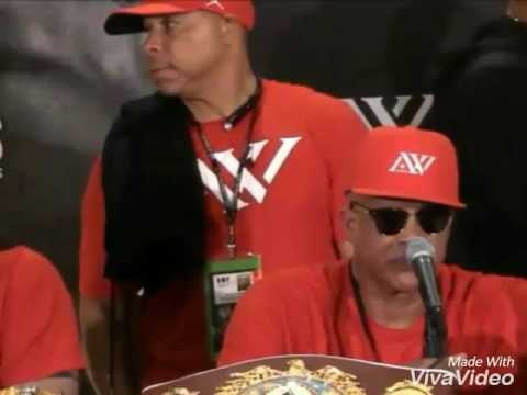 VIRGIL HUNTER WANTS ANDRE WARD TO GO UP TO HEAVYWEIGHT AND FIGHT ANTHONY JOSHUA!