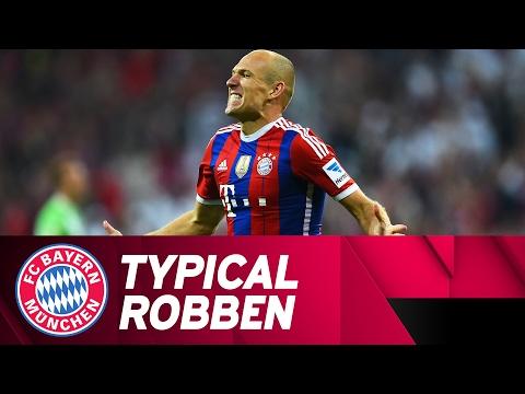 Arjen Robben Signature Goal Against VfL Wolfsburg | 2014/15 Season