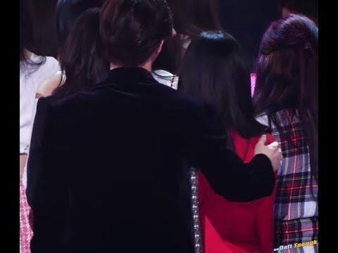 EXO Suho and Red Velvet Irene moment_MBC Gayo Daejun 2017