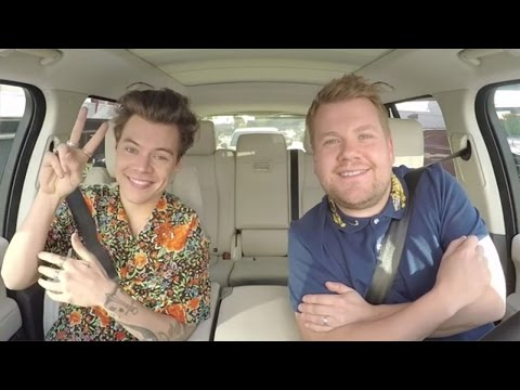 Harry Styles Flinches During Kendall Jenner Mentions Teases New 'Carpool Karaoke'