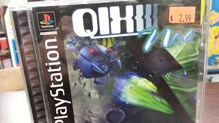 Classic Game Room - QIX NEO review for PlayStation