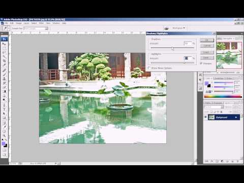 Photoshop CS3 - Phan 1- Bai 8 - Xu ly anh du sang tram trong