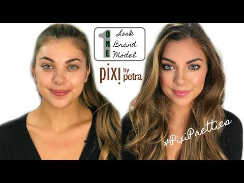 PIXI BEAUTY Youtuber Collab + TUTORIAL | ONE Look, Brand, & Model