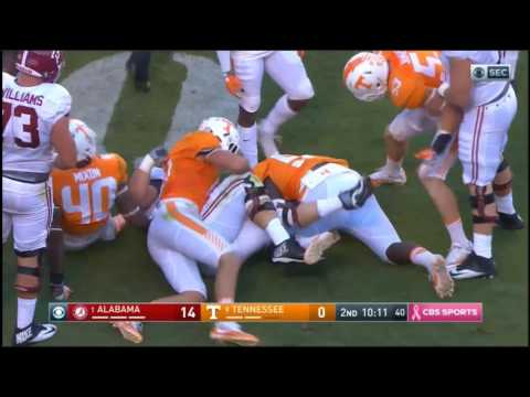 Alabama Crimson Tide at Tennessee Volunteers in 30 Minutes - 10/15/16