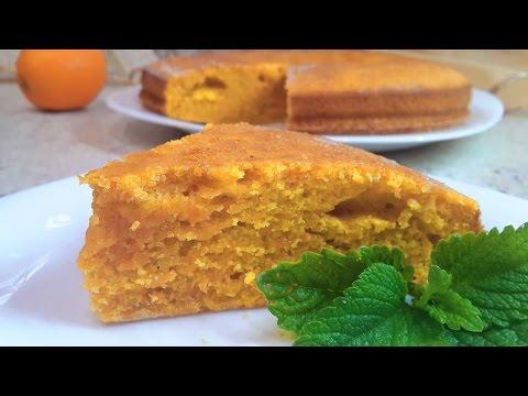 Морковный пирог (торт) простой рецепт как приготовить.