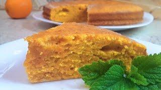 Морковный пирог (торт) простой рецепт как приготовить.Carrot cake