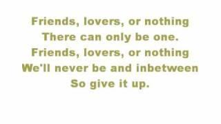 John Mayer - Friends,Lovers or Nothing with lyrics
