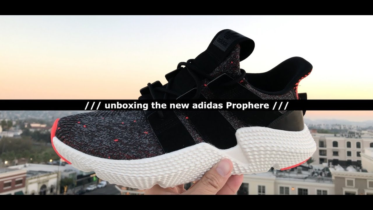 First Look: Unboxing The New adidas Prophere