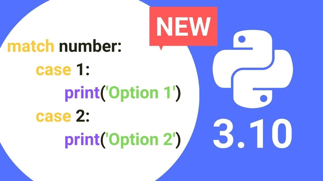 NEW Feature in Python 3.10 (Finally!) + Release Date