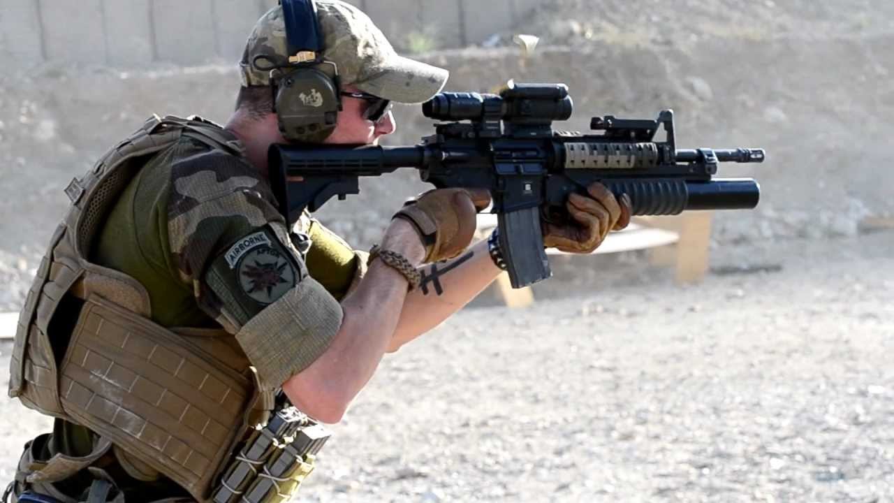 shooting m4 carbine at range in afghanistan youtube