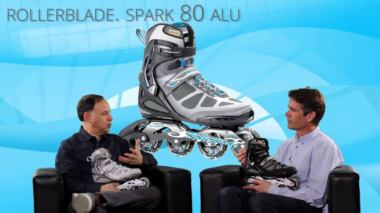 70d9a67f4eb 2015 Rollerblade Spark 80 ALU Mens and Womens Inline Skate Overview by  INLINESKATESdotCOM