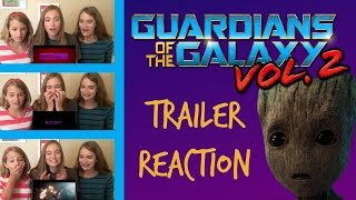 Guardians of the Galaxy Vol.  2, WORLD PREMIERE Trailer Reaction!
