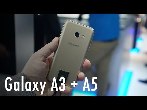 Samsung Galaxy A3 and A5 hands on
