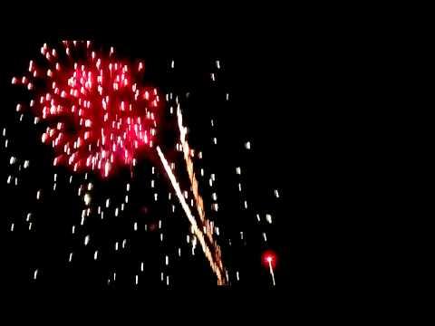 Bắn pháo hoa tại TT Kiến Đức H ĐăkR