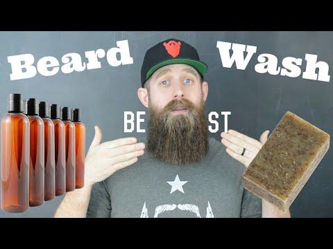 The BEST Beard Washes - Bar & Liquid beard soaps! - YouTube