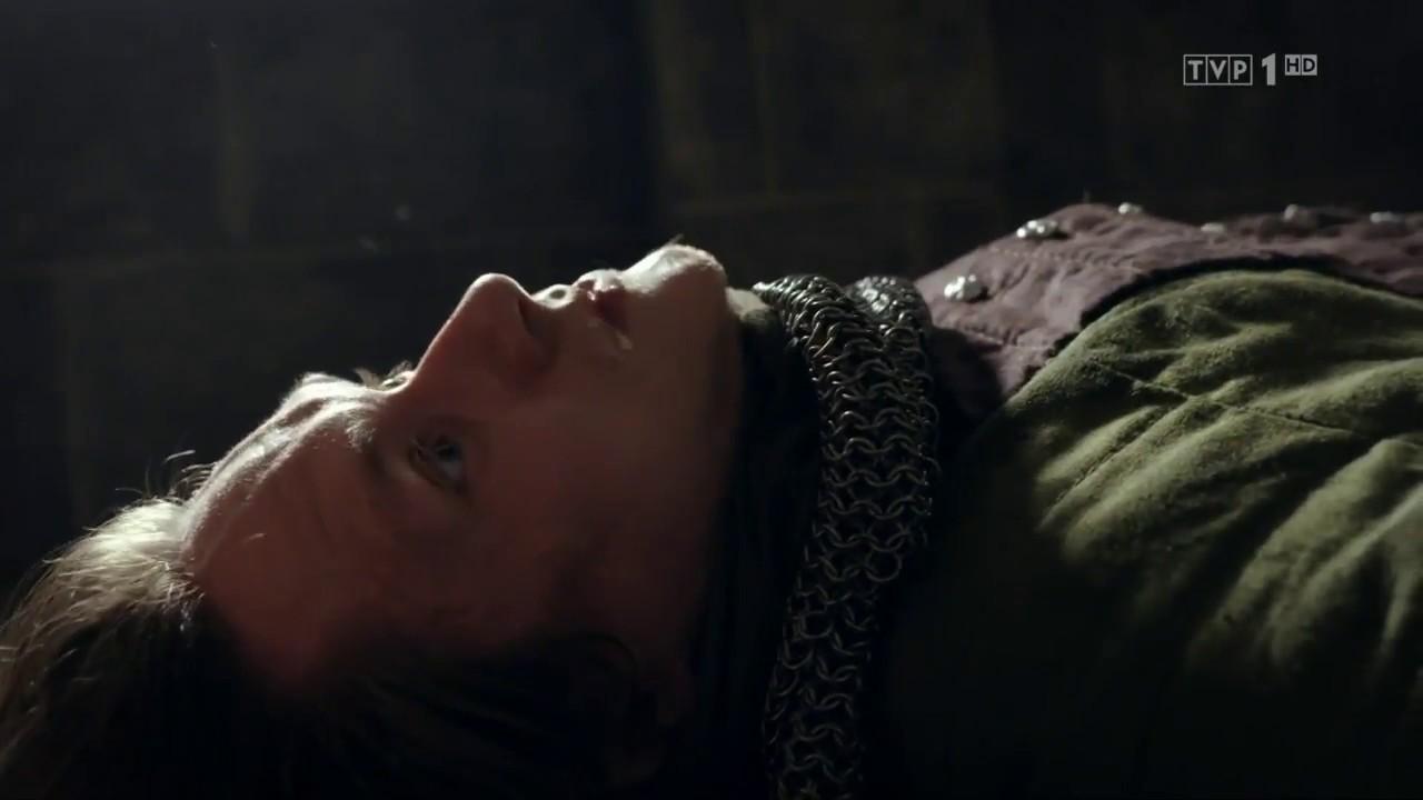 """""""Korona królów"""" – O włos od śmierci – scena z odc. 8"""