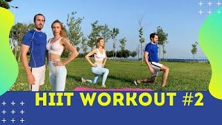 YENİ BAŞLAYANLAR İÇİN 10dk HIIT KARDİYO #2 |10 min Beginner HIIT Cardio | FITINSANE |