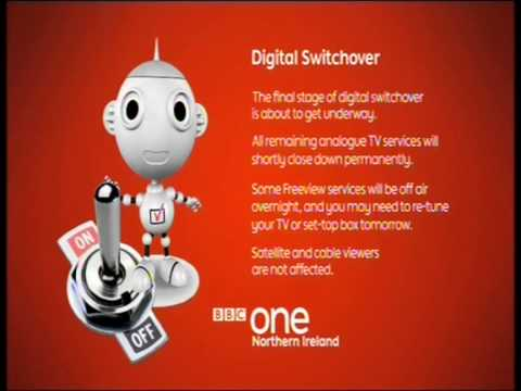 Analogue switch off in the UK - BBC Northern Ireland 23 Oct
